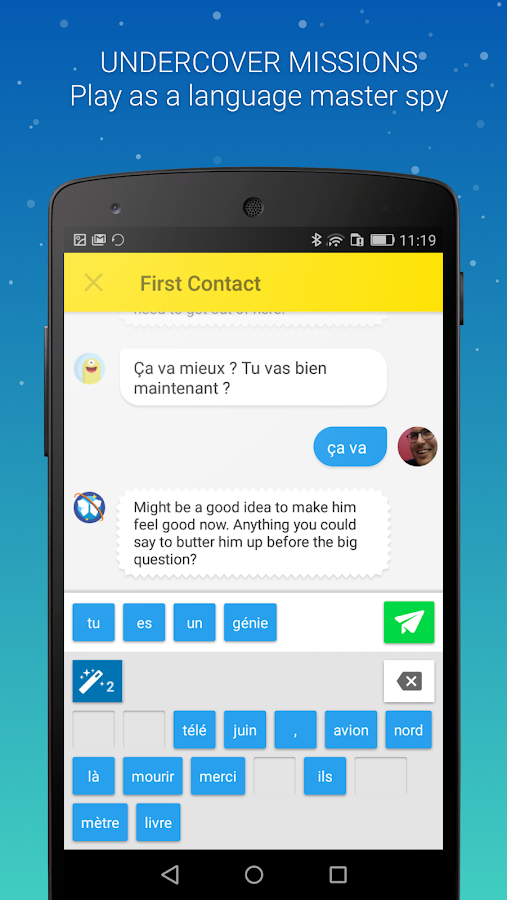 Memrise: Learn a new language Screenshot 1
