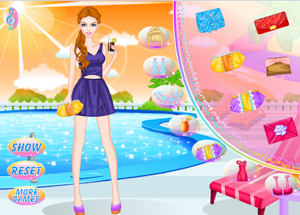 Game bride dressing - screenshot