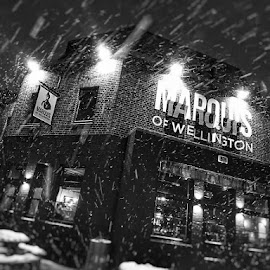 Snowing again... by Jonny Wood - Instagram & Mobile Android