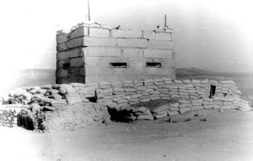 Afganistan 1979-1989, Ograniczony Kontyngent wojsk Radzieckich- wojna logistyczna, strażnica