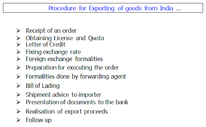 How to export goods