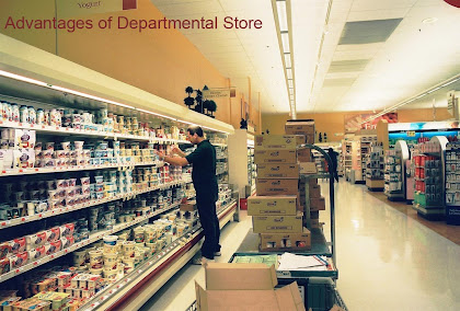 advantages of departmental store