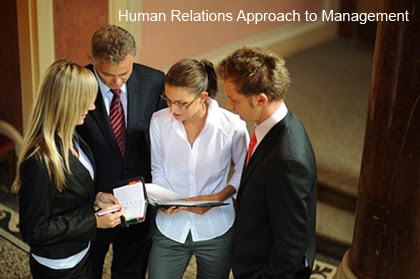 human relations approach to management