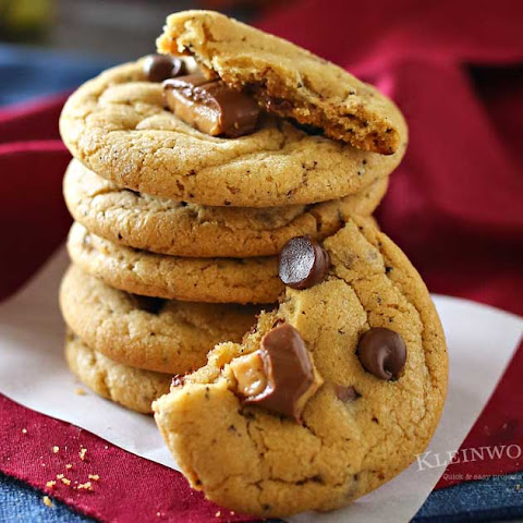 Coffee Toffee Cookies