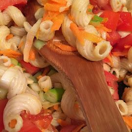 Dinkelnudeln mit Gemüse by Marianne Fischer - Food & Drink Cooking & Baking