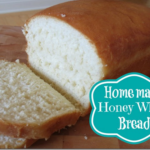 Homemade Honey White Bread