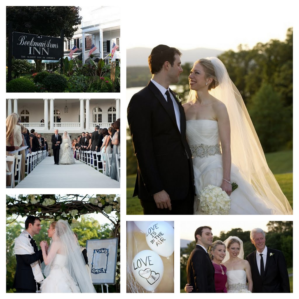 Chelsea Clinton Wedding Gown: Mique's Blog: Boho Chic Wedding Dress