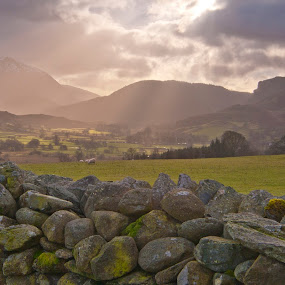 Lake District looking away from Castle Rigg by Christian Rawlinson - Landscapes Mountains & Hills ( uk, england, castle rigg, christian rawlinson, lake district )