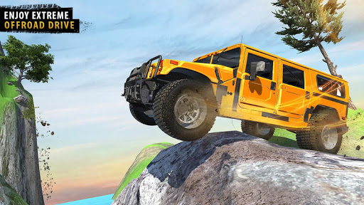 Offroad Jeep Driving Simulator - Jeep Simulator screenshot 13