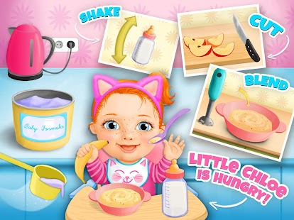 Free Download Sweet Baby Girl - Daycare APK for Samsung