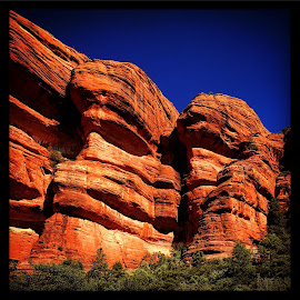 Red rocks of Sedona by Solomen Flewellen - Landscapes Caves & Formations (  )