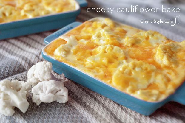 Cheesy Cauliflower Casserole Rezept | Yummly
