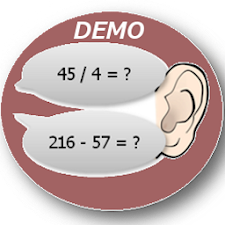 Mental arithmetic by ear TRIAL