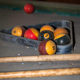 by Tony Fruciano - Sports & Fitness Cue sports