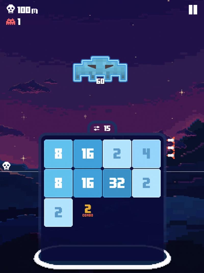 Invaders 2048 Screenshot 9