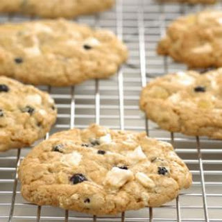 Blueberry & White Chocolate Chunk Ginger Cookies