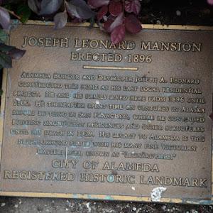 See: https://localwiki.org/alameda/Joseph_Leonard_Mansion