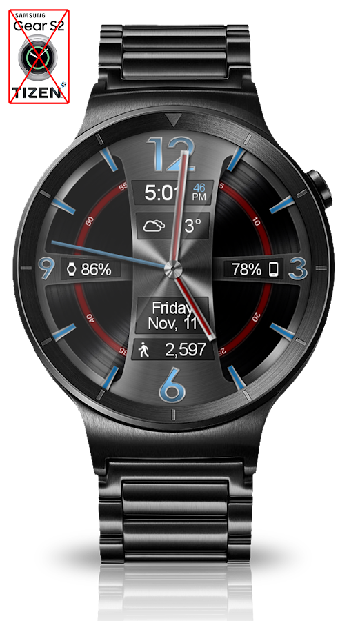 Avionic Depth HD Watch Face Screenshot 3