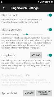 Fingertouch Pro- screenshot