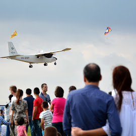 go by by Rux Georgescu - Transportation Airplanes ( aeromania, airplane, air show )