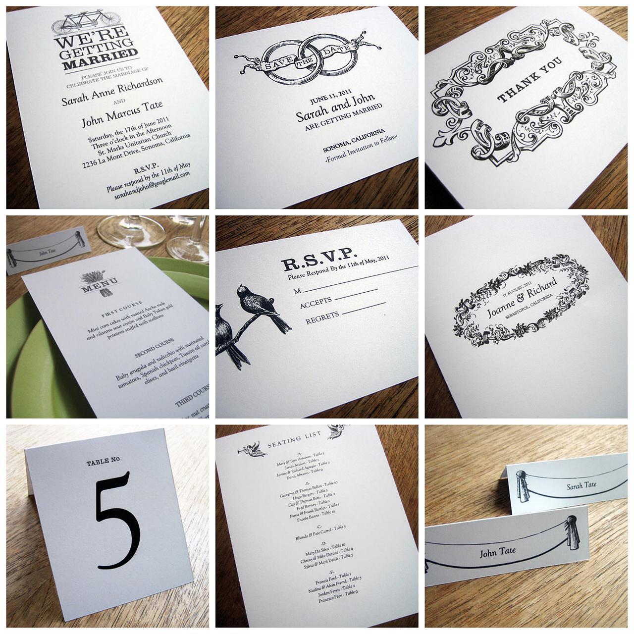 response card, wedding