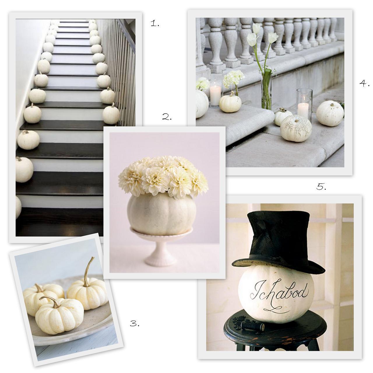 Benedikte\'s blog: pumpkin wedding centerpieces