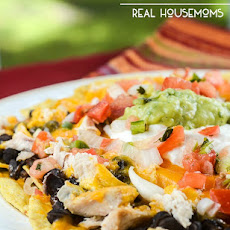 Easy Chipotle Chicken Nachos