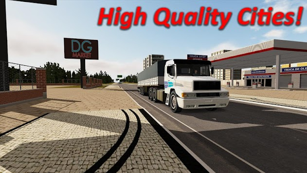 Heavy Truck Simulator 1293150 APK screenshot thumbnail 4