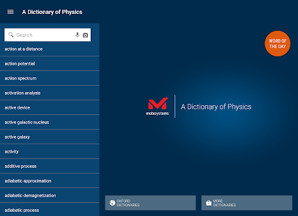 Oxford Dictionary of Physics APK for Bluestacks