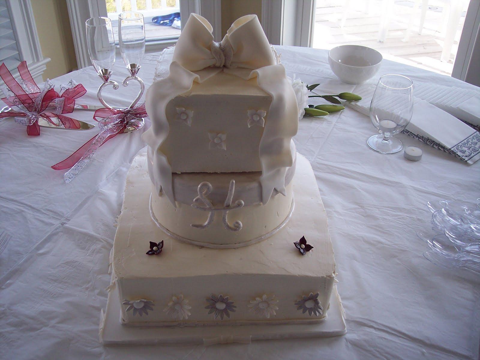 Beach Wedding Cake by ~souljer