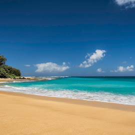 Maniniholo Bay, Kauai by Jacob Richards - Landscapes Beaches ( kauai, waves, shoreline, beach, hawaii )
