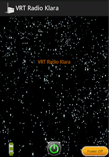 VRT Radio Klara - screenshot