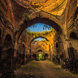 FAUTI MASJID by Arijit Banerjee - Buildings & Architecture Public & Historical ( structure, buildings, architectural detail, ruins, abandoned )