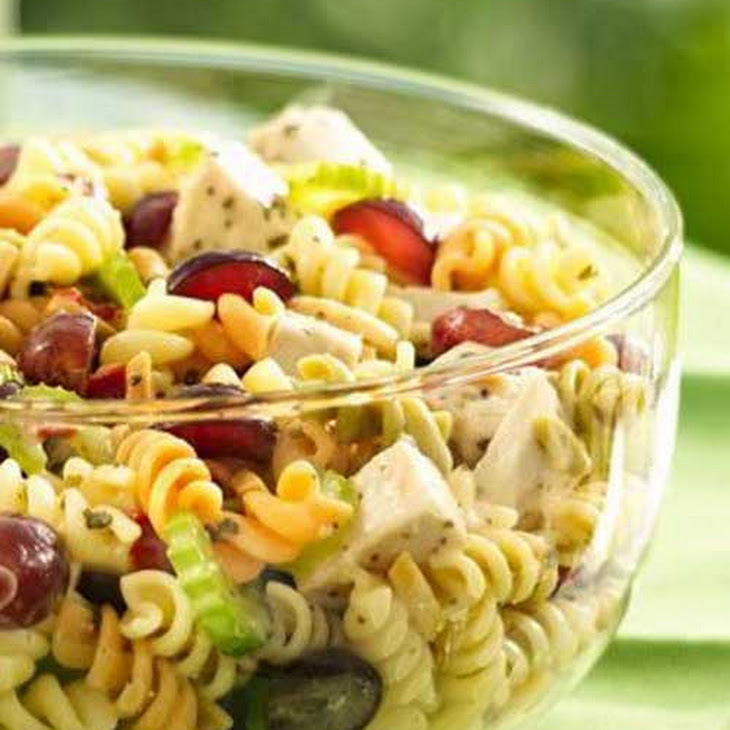 Chicken Pasta Salad With Grapes And Poppy Seed Dressing ...