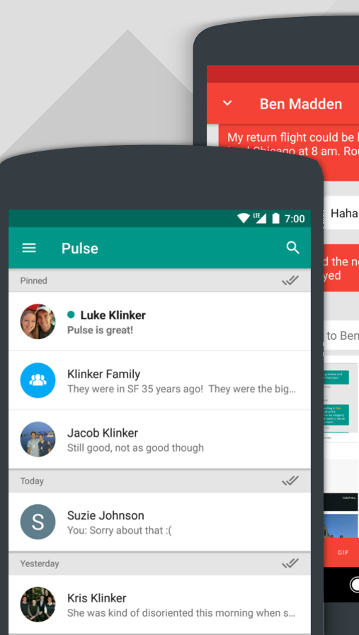 Pulse Messenger - SMS on a PC Screenshot 0