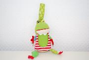 Игрушка Deglingos Лягушонок Croakos - брелок