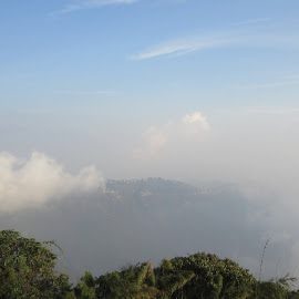 Havenly Clouds by Suvadeep Banerjee - Landscapes Cloud Formations ( clouds, hills, weather, paradise, skyscape )