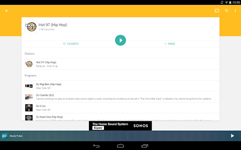 App TuneIn Radio - Radio & Music APK for Kindle