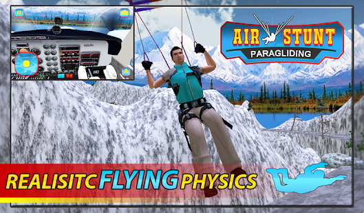 Air Flying Stunts : Sim - screenshot