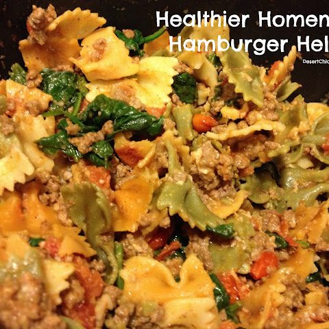 Healthier Homemade Hamburger Helper