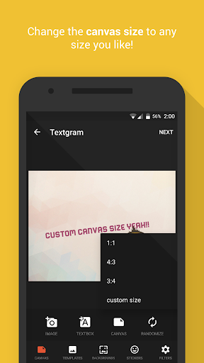Textgram - write on photos For PC