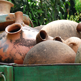OLLAS OAXACA  by Jose Mata - Artistic Objects Cups, Plates & Utensils