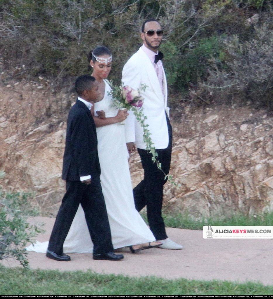 Alicia Keys wedding photos