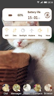 Lovely Cats 91 Launcher Theme - screenshot