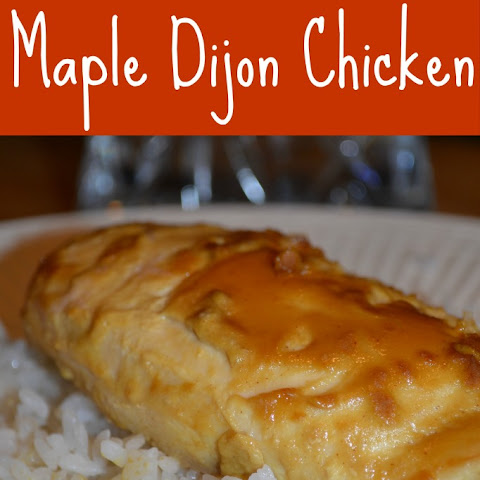 Maple Dijon Chicken