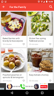 Gluten free recipes - screenshot