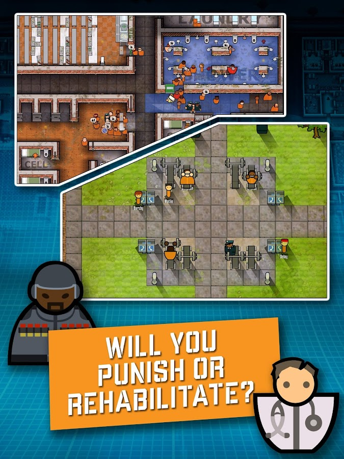 Prison Architect: Mobile Screenshot 8