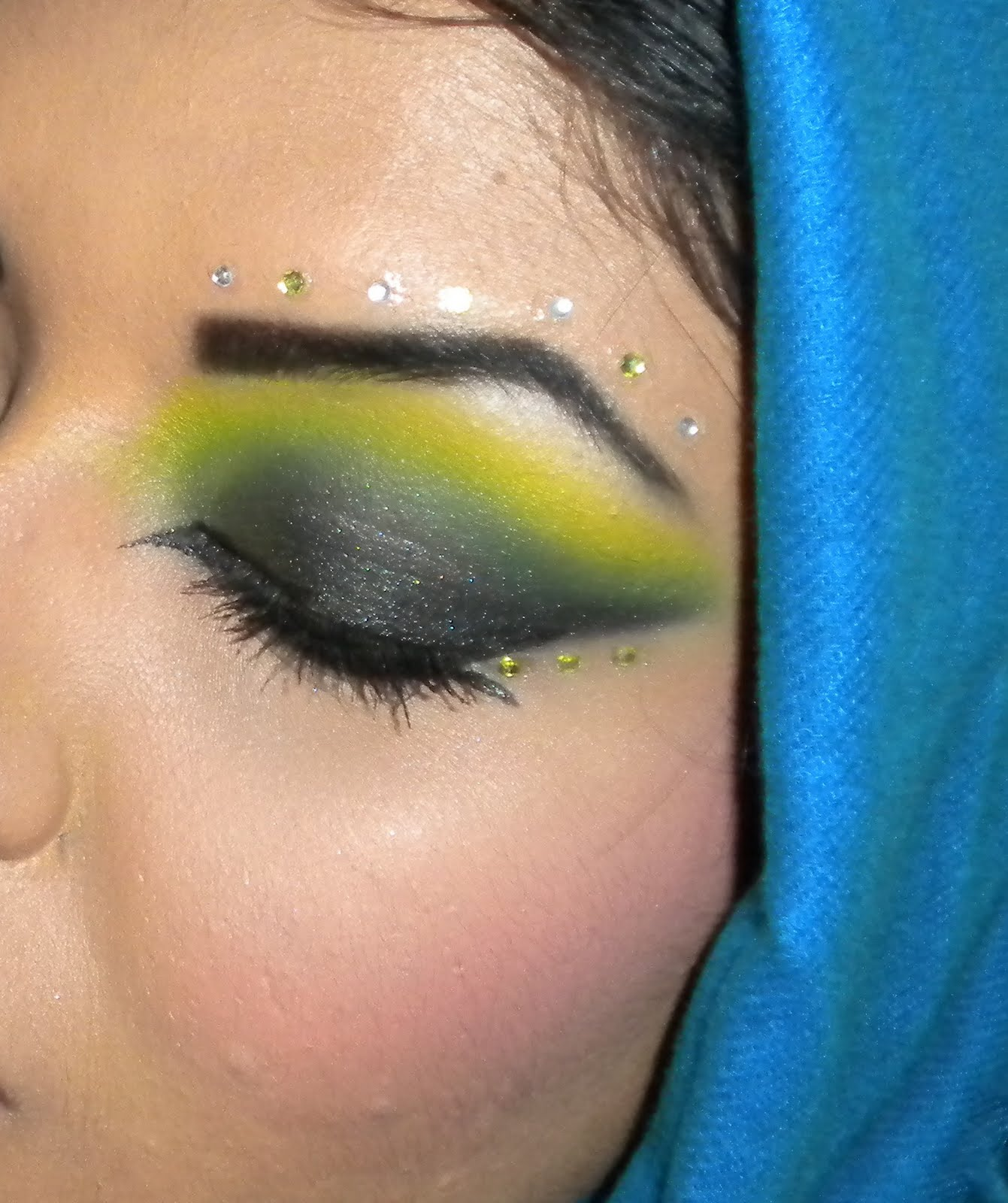 Arabic Makeup Inspired look