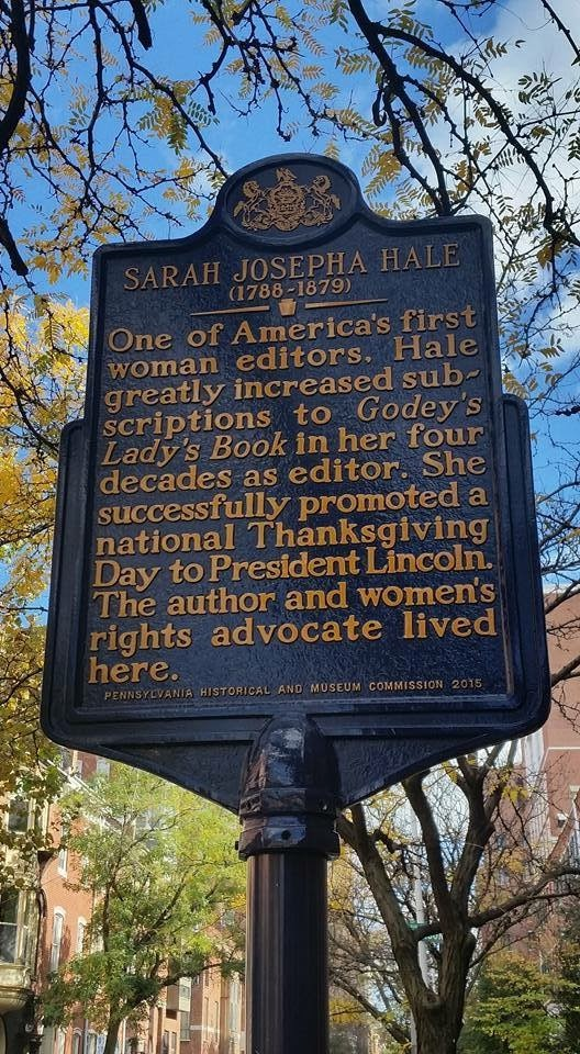 SARAH JOSEPHA HALE(1788 - 1879) One of America's first woman editors. Hale greatly increasedsubscriptions to Godye's Lady's Book in her four decades as editor. She successfully promoted a national ...