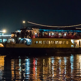 Dinner cruise at River Mandavi by Amrita Bhattacharyya - Transportation Boats